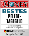 Focus Money Bestes Pflegetagegeld